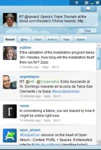 Скриншот Opera 10.50 - Виджеты