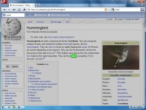 Скриншот Opera 10.50 - Поиск