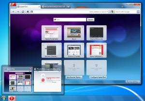 Скриншот Opera 10.50 - Windows 7